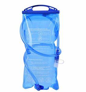 Grande capacité Sports en plein air Sac à eau potable Sac à eau Échelle portable Équitation Course Escalade Sac à eau Grande capacité 2 L, Homme, bleu, 2L