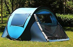 IREANJ Plage Tentoutdoor entièrement Vitesse Automatique Double Open abris Soleil Portable Camping épaissie enfants'S Parc Tente