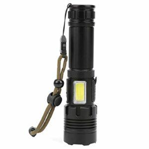 Jeanoko Équipement de Charge de Torche Forte luminosité de la Lampe de Poche Aventure en Plein air Escalade de Montagne