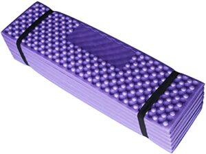 KJGHJ Camping Tapis Portable Sleeping Pied De Couchage Pique-Nique Foam Matela Matériel Trekking Couverture (Color : Pul, Size : 190x57cm)