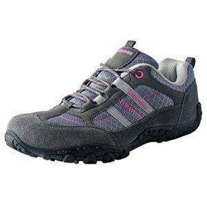 Knixmax Chaussures de Randonnée Basses Femme Chaussure Tennis de Marche Femmes Baskets de Montagne Chaussures de Trail Gris EU 41