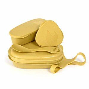 Light My Fire Set Vaisselle Camping – Kit Picnic 6 Couverts Camping – Vaisselle Plastique Reutilisable 100% sans BPA – Micro-Onde & Lave-Vaisselle – Couverts Pique Nique Cuisine Camping Et Randonnée