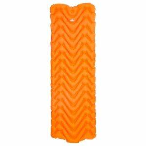 Matelas gonflable ultraléger pour extérieur, camping, randonnée, voyage (type M, orange)
