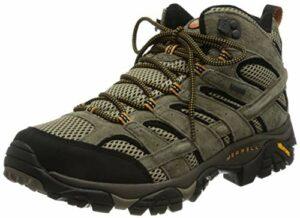 Merrell Moab 2 Leather Mid GTX, Chaussures de Randonnée Hautes Homme, Marron (Pecan), 43.5 EU
