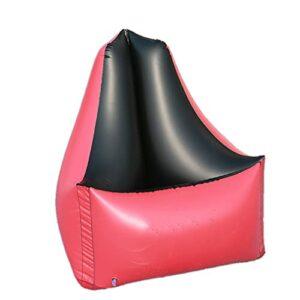 Nealpar Canapé Gonflable à l'eau Pliable Paresseux Voyage en Plein Air Loisirs Inclinable PVC Chaise de Camping Résistant à la Déchirure,B,85 * 85 * 85
