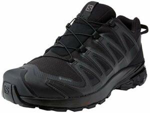 Salomon XA PRO 3D V8 GTX Chaussures Randonnée – Homme – Noir (Black/Black/Black) – 42 2/3 EU