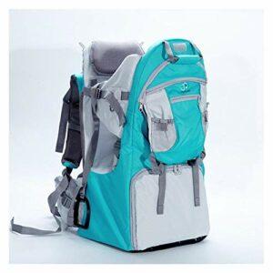 SCYMYBH Porte-Sacs à Dos bébé pour bébé pour la randonnée avec des Enfants Portent Votre Enfant Ergonomique (Color : Sky Blue)