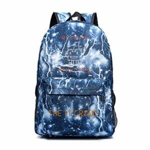 The IT Crowd Sacs à bandoulière Hommes Sac à Dos Rucksack léger Portable Daypack Populaire Styles Sac de Voyage Sac de randonnée en Plein air Hommes (Color : A01, Size : 45 X 30 X 14cm)