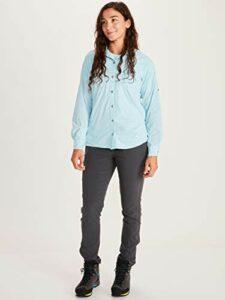 T-Shirt Manche Longue, Chemise de Randonnée, avec Protection UV, Respirante