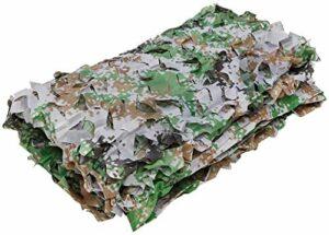 ZHEYANG Filet de camouflage extérieur pour voiture, chasse, montagne, verdure agricole, abris de construction, etc. (Couleur : 1#, taille : 4 x 4 m)