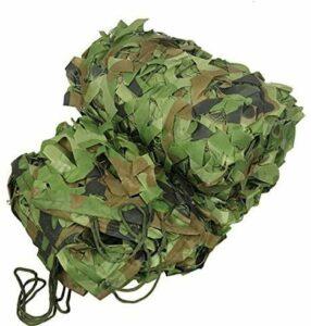 ZHEYANG Filet de camouflage extérieur pour voiture, chasse, montagne, verdure agricole, abris de construction, etc. (Couleur : 2#, Taille : 2 x 10 m)