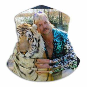 485 Cache-Cou pour Homme Femme,Joe Exotic Le Roi Tigre,Bandeau Magique Élastique Bande De Cheveux Séchage Rapide Balaclava pour Escalade Extérieur Moto