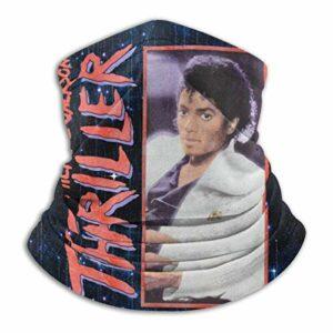 485 Cache-Cou pour Homme Femme,Michael Jackson Thriller,Écharpe Tube Elastique Echarpe Gaiter Respirant Balaclava pour Escalade Randonnée Course À Pied
