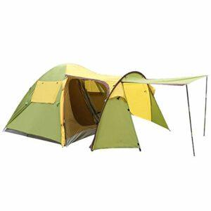 AMY-ZW 5-6 Man Camping Tentes 4 Saisons Grande Famille Imperméable Tentes Randonnée Légère avec Windows for Montagnisme Voyage Escalade Garden Beach