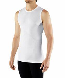 FALKE Cool M SI Chemise de randonnée Homme, Blanc (White 2860), M