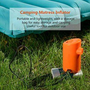 Gonfleur d'air USB, Pompe de gonflage d'air USB, Mini Pompe électrique Durable de gonfleur de Matelas de Camping, Montagne extérieure pour(Lithium Battery Version)