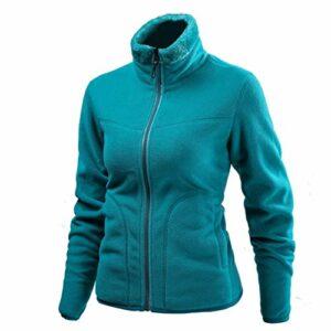 JOSCJKS Hiver Polaire Coquille Souple Mode Hommes Vestes d'alpinisme Escalade mâle Veste de randonnée Green Women XXL