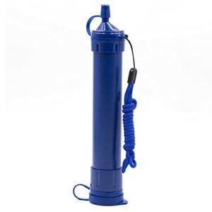 MIAOLEIE Paille de Filtre à Eau, Portable l'eau Purificateur Survie Filtration Équipement, en Buvant Extérieur pour Randonnée Camping Voyage Escalade