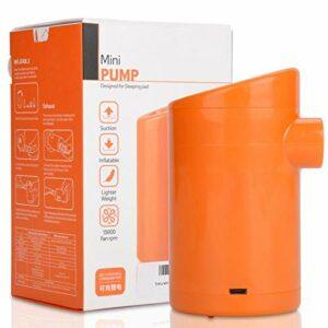 Mini gonfleur d'air, Mini Pompe, Montagne portative pour Matelas de Camping extérieur de Route(Lithium Battery Version)