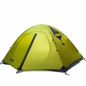 YLJYJ Tente pour 2 Personnes Tentes d'escalade de Camping à Double Couche en Aluminium à Double Couche (Tente)