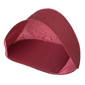 adgbd Beach Shell Tente Plage Tente Protection UV Tente Automatique Pop-up, Écran Solaire Extérieur Imperméable À l'eau Tente Plage Portable Familiale pour Plage Camping Pêche Randonnée