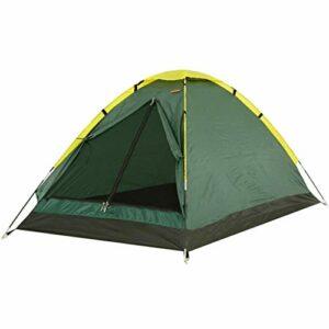 Busirsiz Tente de camping imperméable et légère avec écran solaire, verte facile à installer, adaptée pour l'extérieur, la randonnée et