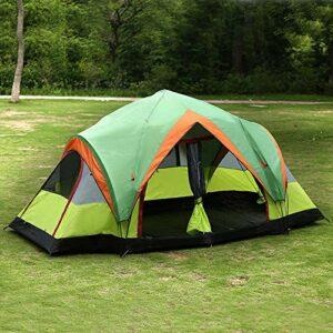 Ultralégère instantanée Pop-Up Exterieur Bivouac Tente丨Etanche丨festival丨Voyage丨plageTente de Camping Automatique Double Coupe-Vent et Anti-Pluie